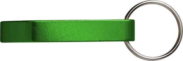 Metal 2-in-1 key holder - Green
