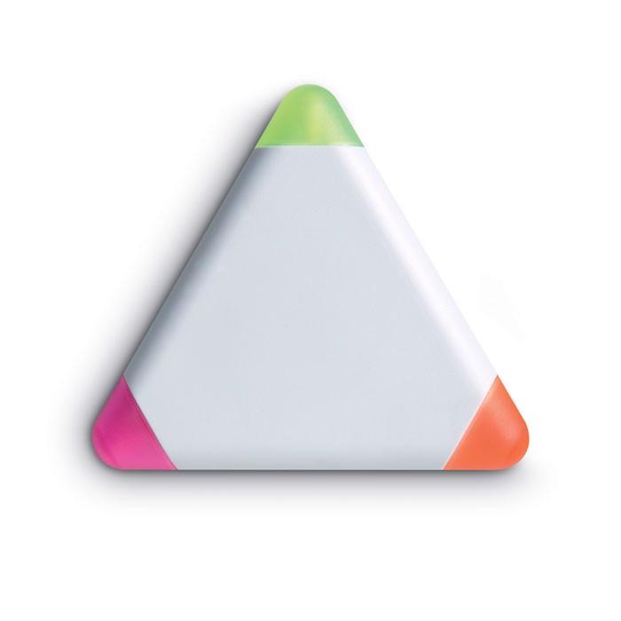 Trójkątny zakreślacz, 3 kolory Triangulo