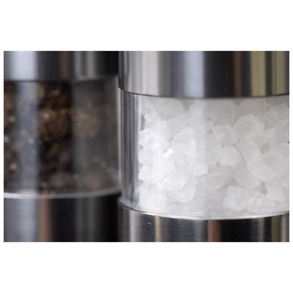 Zestaw młynków Salt & Pepper Twosome - Srebrny