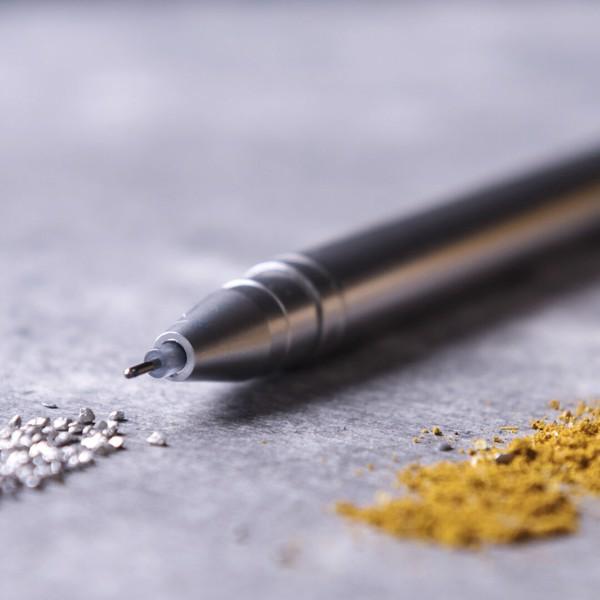 Bolígrafo Delray - Plateado
