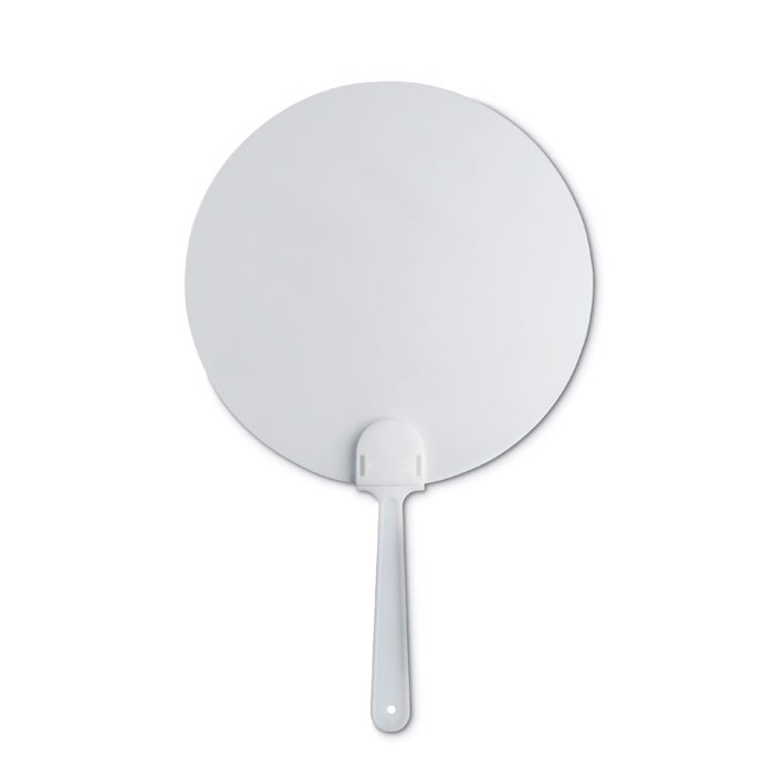 Manual hand fan Paypay - White
