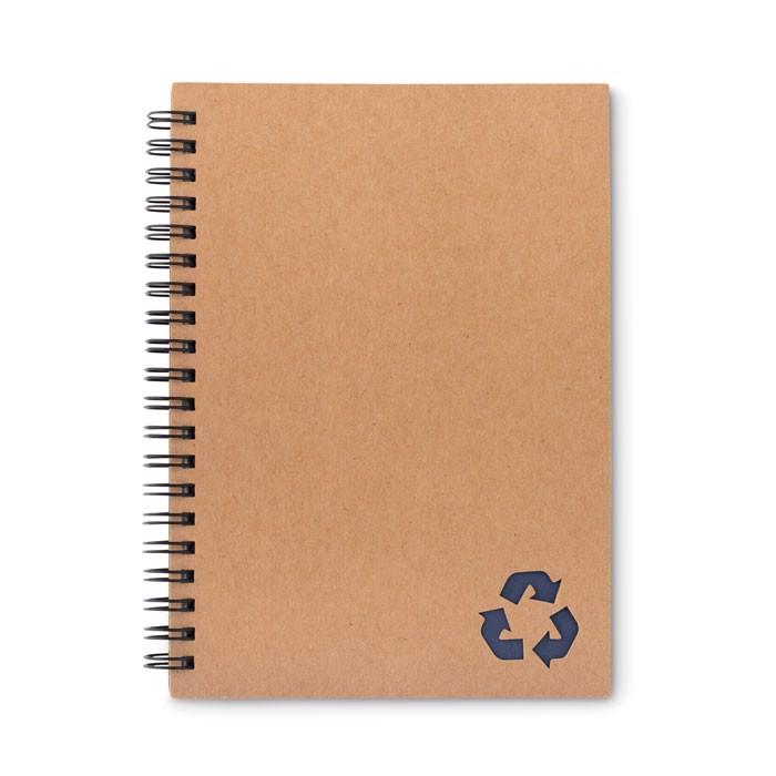 Libreta de piedra 70 hojas - azul