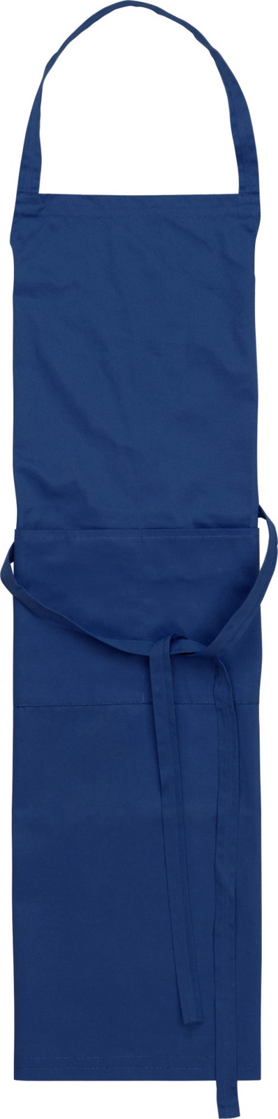 Cotton and polyester (240 gr/m²) apron - Blue