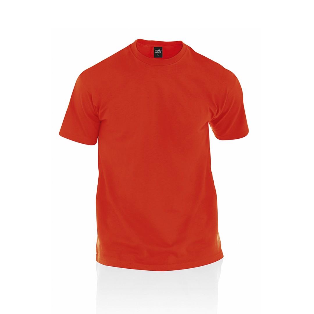 Camiseta Adulto Color Premium - Rojo / S