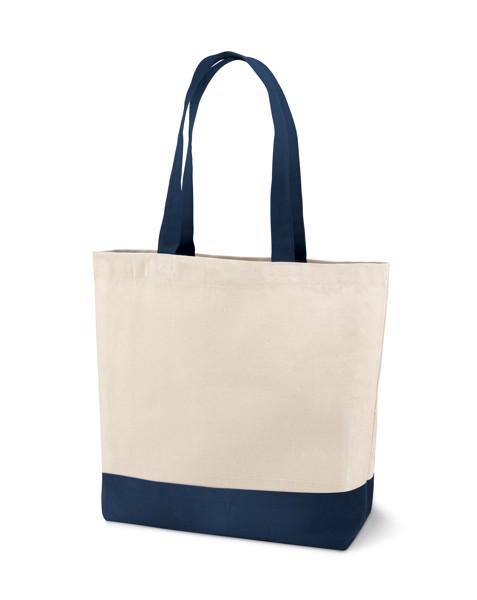 EDMONTON. Einkaufstasche lange Henkel - Blau