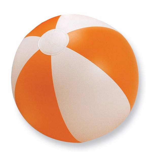 Inflatable beach ball Playtime - Orange