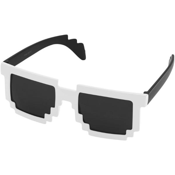 Sluneční brýle Pixel - Černá / Bílá