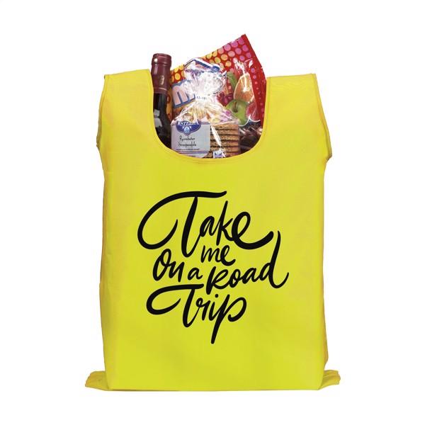 ShopEasy foldable shoppingbag - Light Yellow