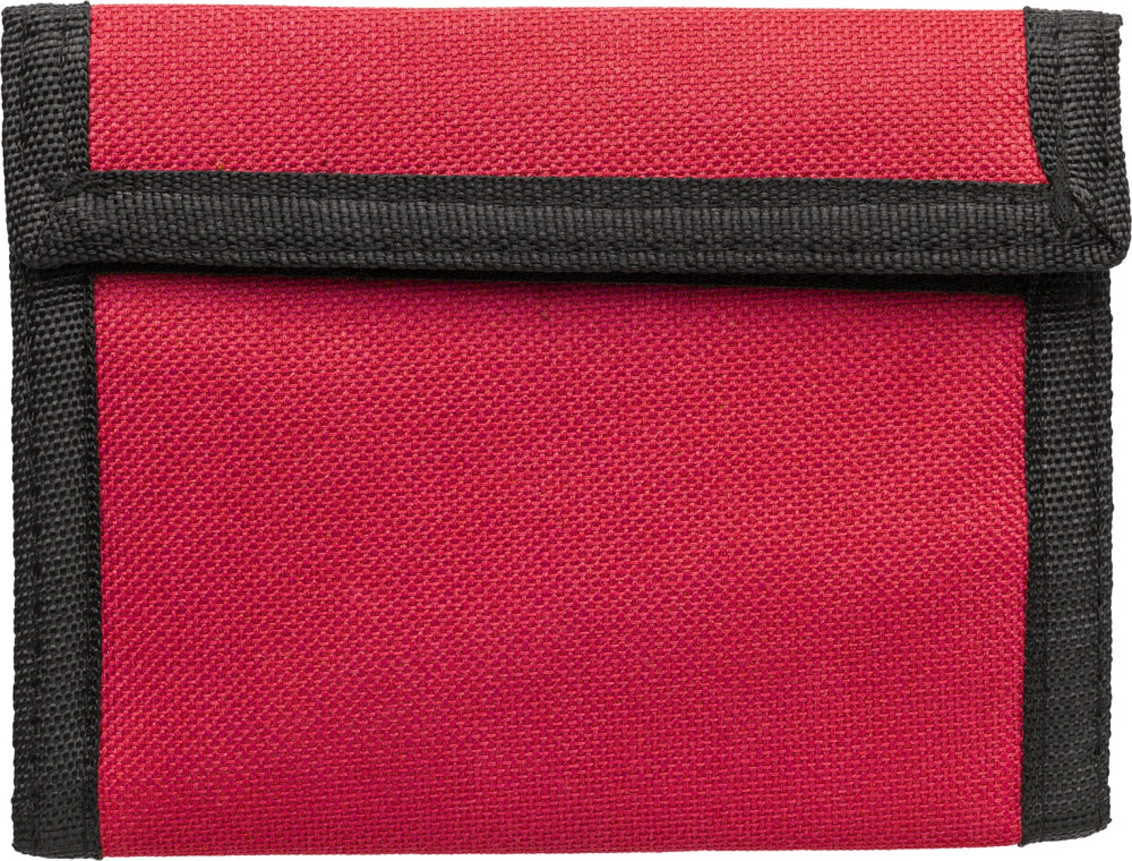 Polyester (190T + 600D) wallet - Red