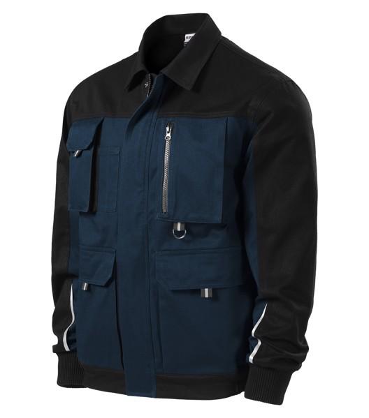 Pracovní bunda pánská Rimeck Woody - Námořní Modrá / 2XL