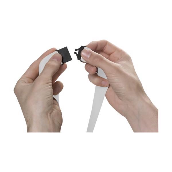 KeyCordSafety 2.4 cm - White
