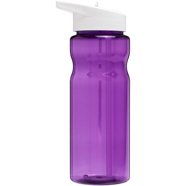 H2O Base® 650 ml spout lid sport bottle - Purple / White