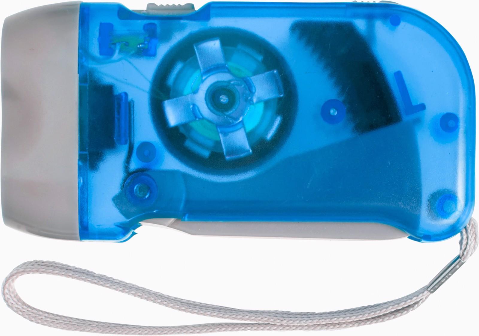 ABS dynamo torch - Cobalt Blue