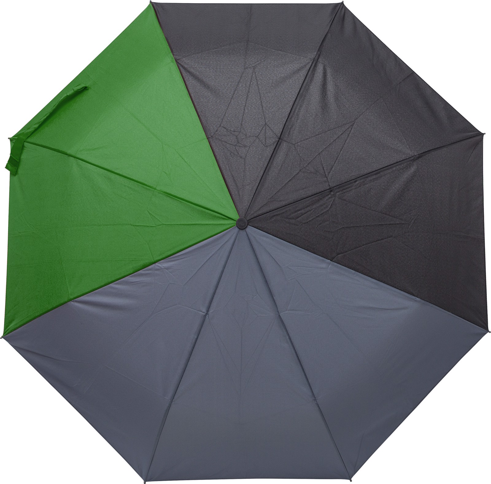 Pongee (190T) umbrella - Green