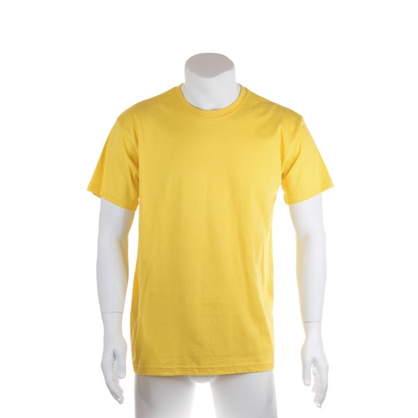 Camiseta Adulto Color Premium - Negro / L