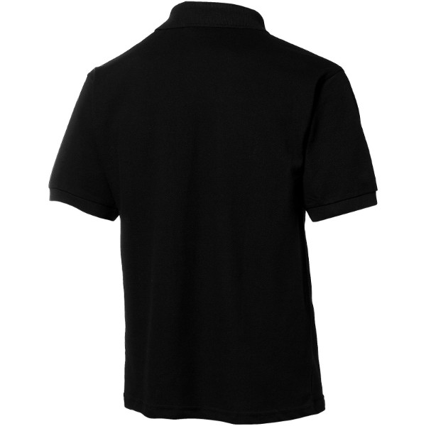 Forehand short sleeve men's polo - Solid black / L