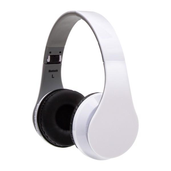 Słuchawki On Air z radiem FM - Biały
