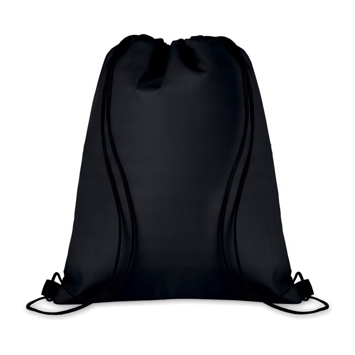 210D Drawstring cooler bag Cooltas - Black