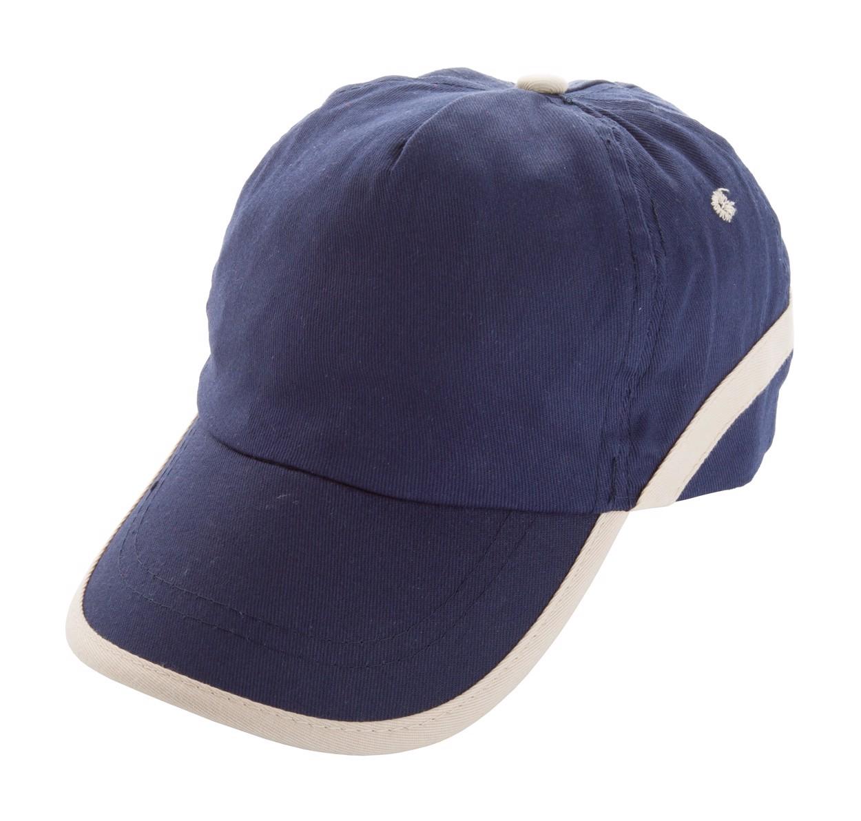 Baseballová Čepice Line - Tmavě Modrá / Béžová