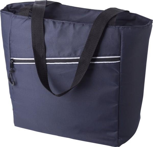 Pongee (75D) cooler bag - Blue