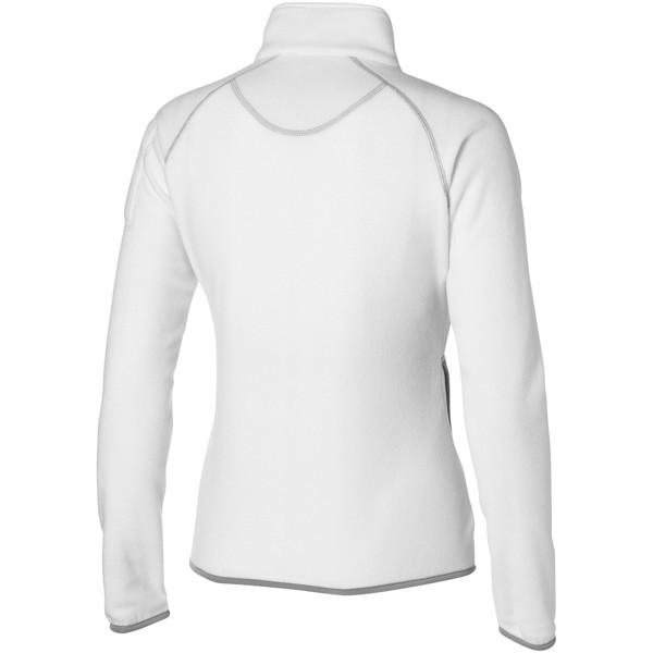 Dámská bunda Drop shot z materiálu mikro fleece - Bílá / S