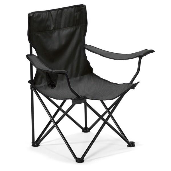 Krzesło turystyczne Easygo - czarny