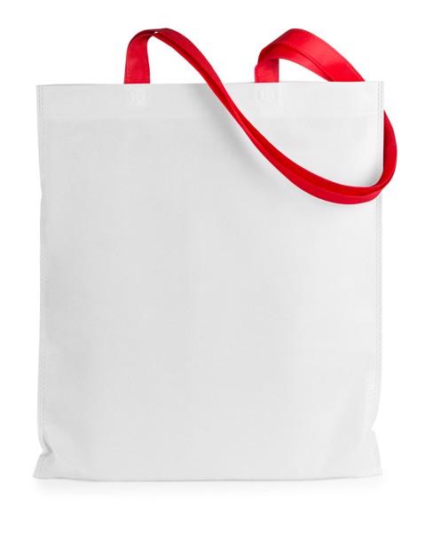 Shopping Bag Rambla - White / Red