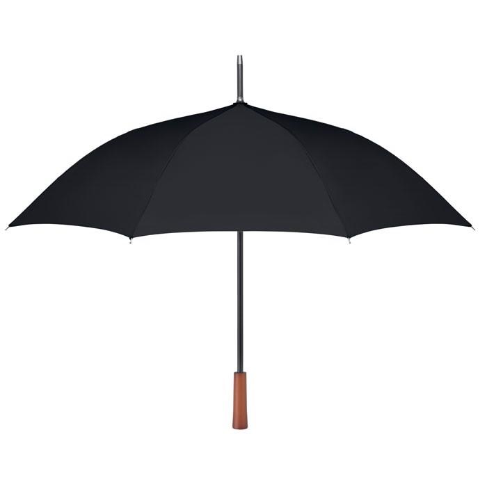 23 inch wooden handle umbrella Galway - Black