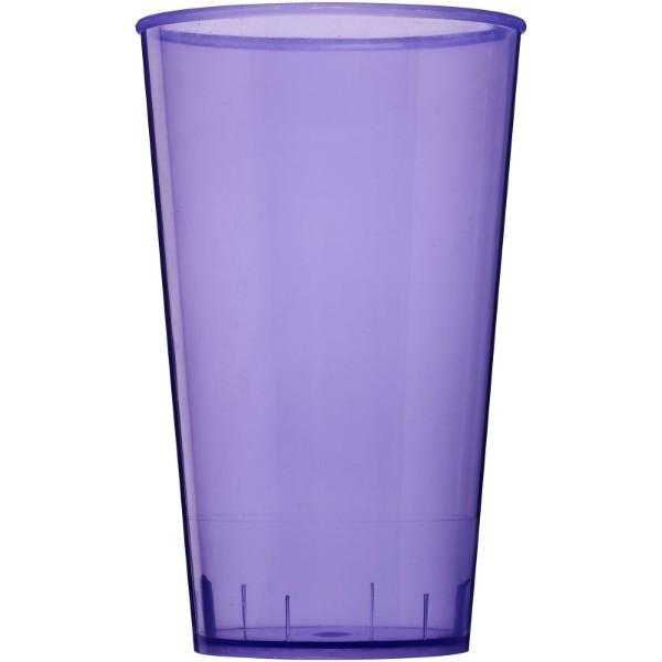 Arena 375 ml plastic tumbler - Transparent purple