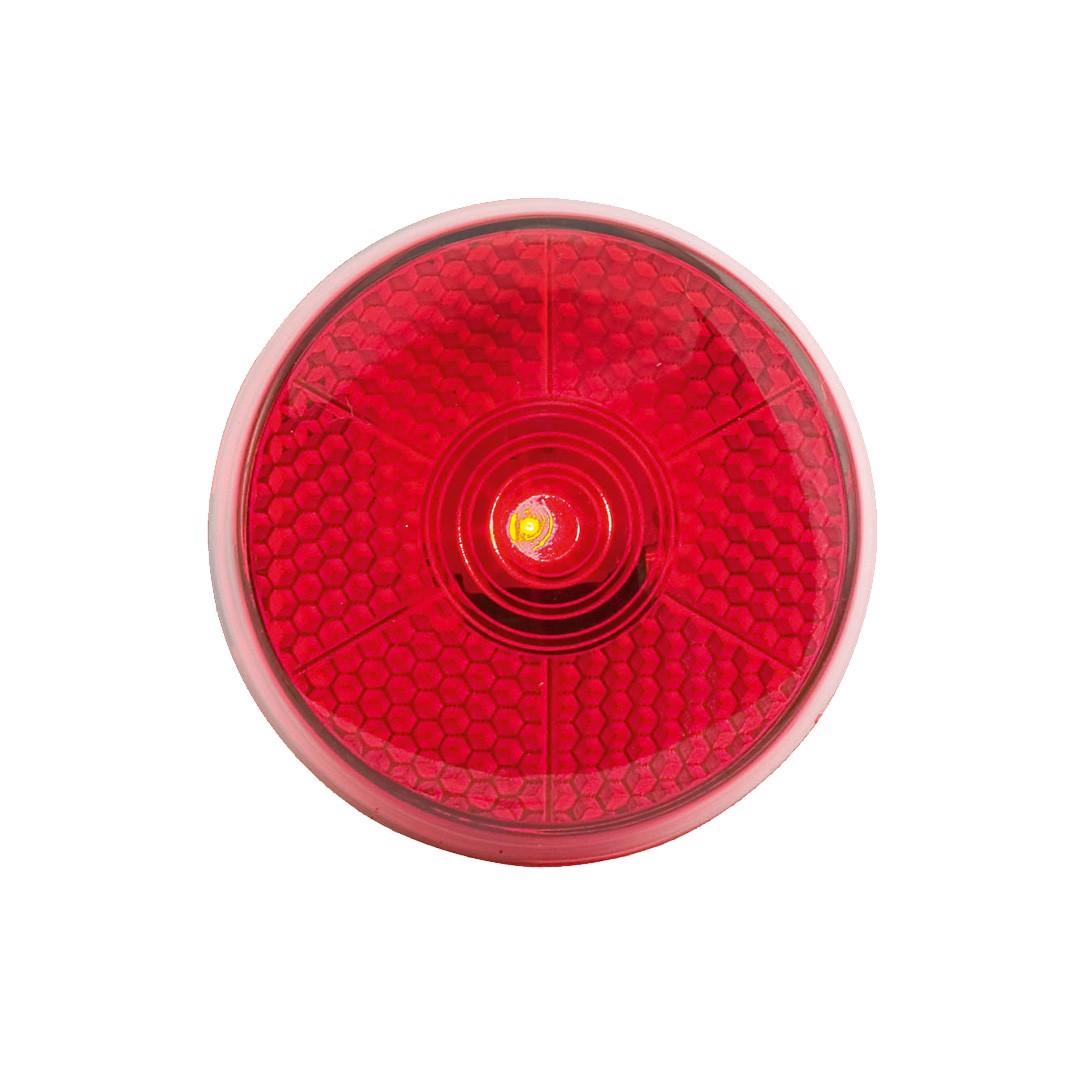 Luz Reflectante Flash - Rojo