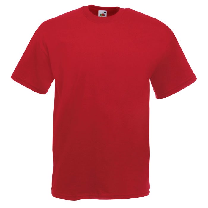 T-shirt 165 g/m² Value Weight T-Shirt 61-036-0 - Brick Red / XL