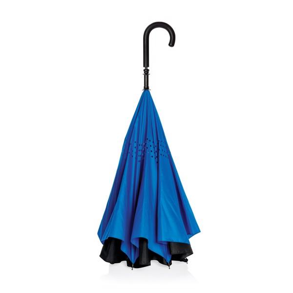 """23""""-es kifordítható esernyő - Kék"""