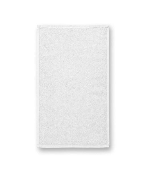 Hand Towel unisex Malfini Terry Hand Towel - White / 30 x 50 cm