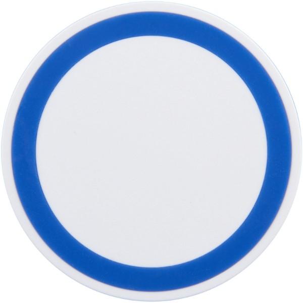 Bezdrátová nabíjecí podložka - Bílá / Světle modrá