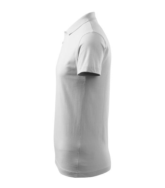 Polo Shirt men's Malfini Single J. - White / M