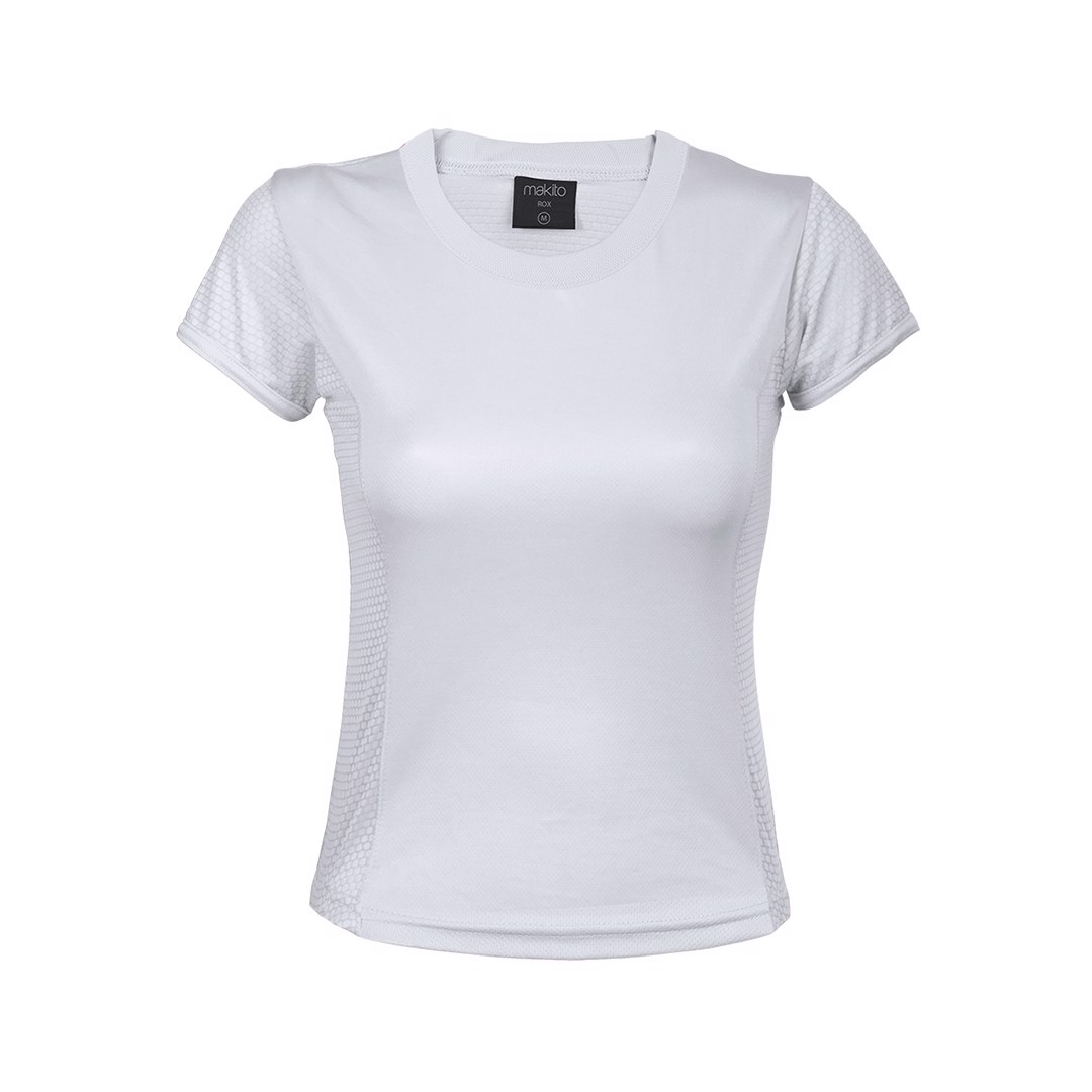 Camiseta Mujer Tecnic Rox - Blanco / L