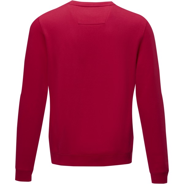 Jasper men's GOTS organic GRS recycled crewneck sweater - Red / XS