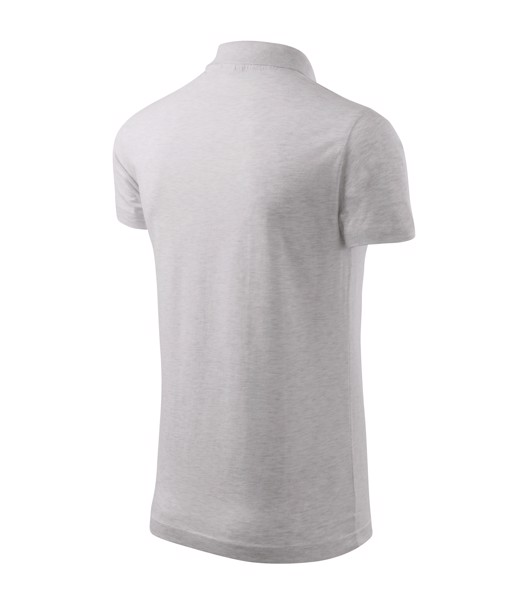 Polo Shirt men's Malfini Single J. - Ash Melange / M