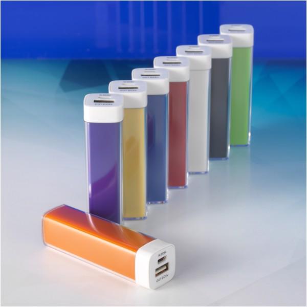 Powerbanka Flash, 2 200 mAh - Světle modrá