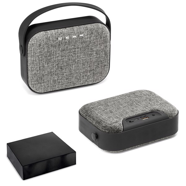TEDS. Portable speaker with microphone
