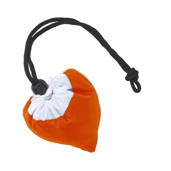 Strawberry foldable bag - Orange