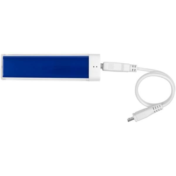 Flash 2200 mAh power bank - Royal blue