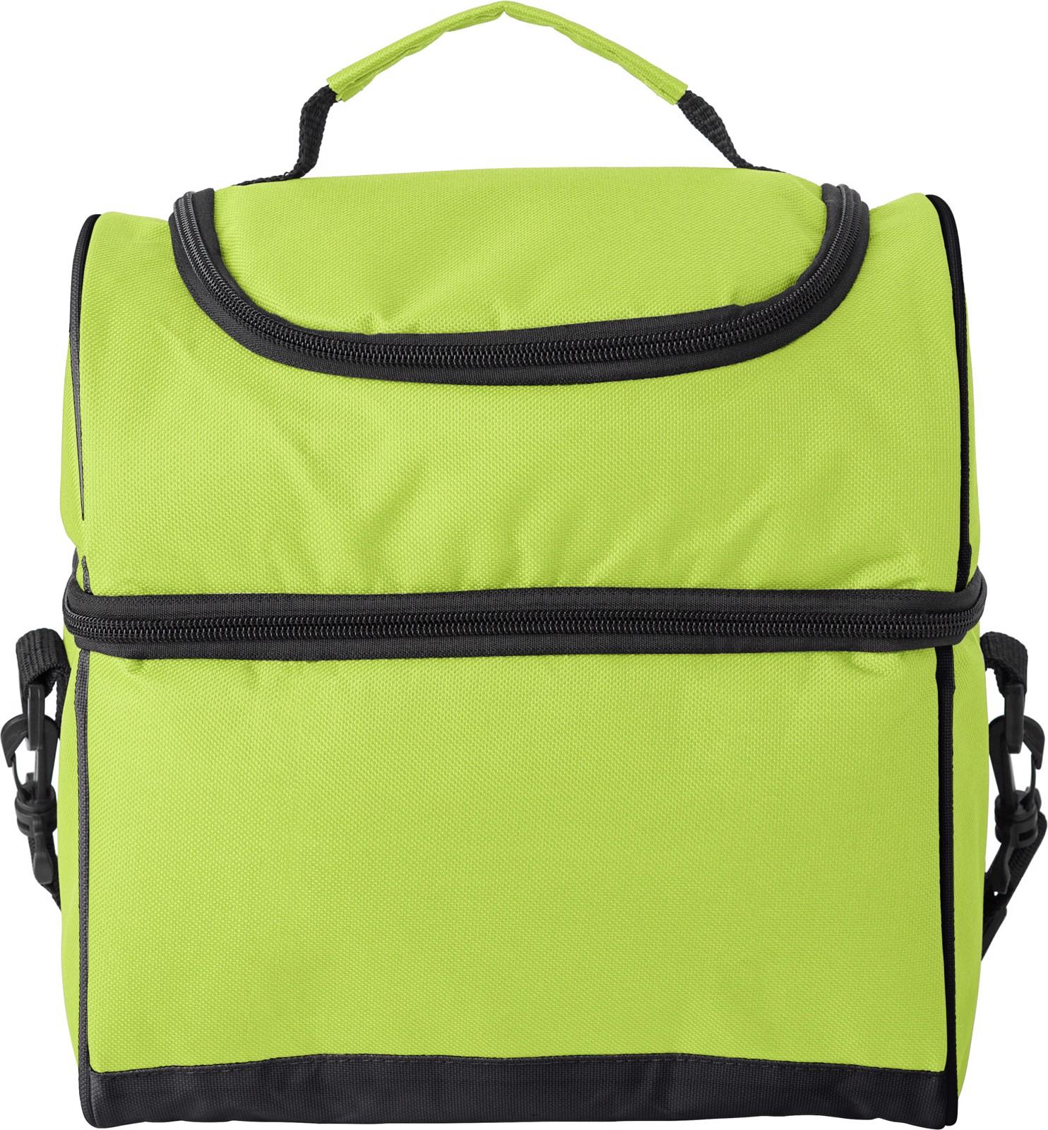 Polyester (600D) cooler bag - Lime
