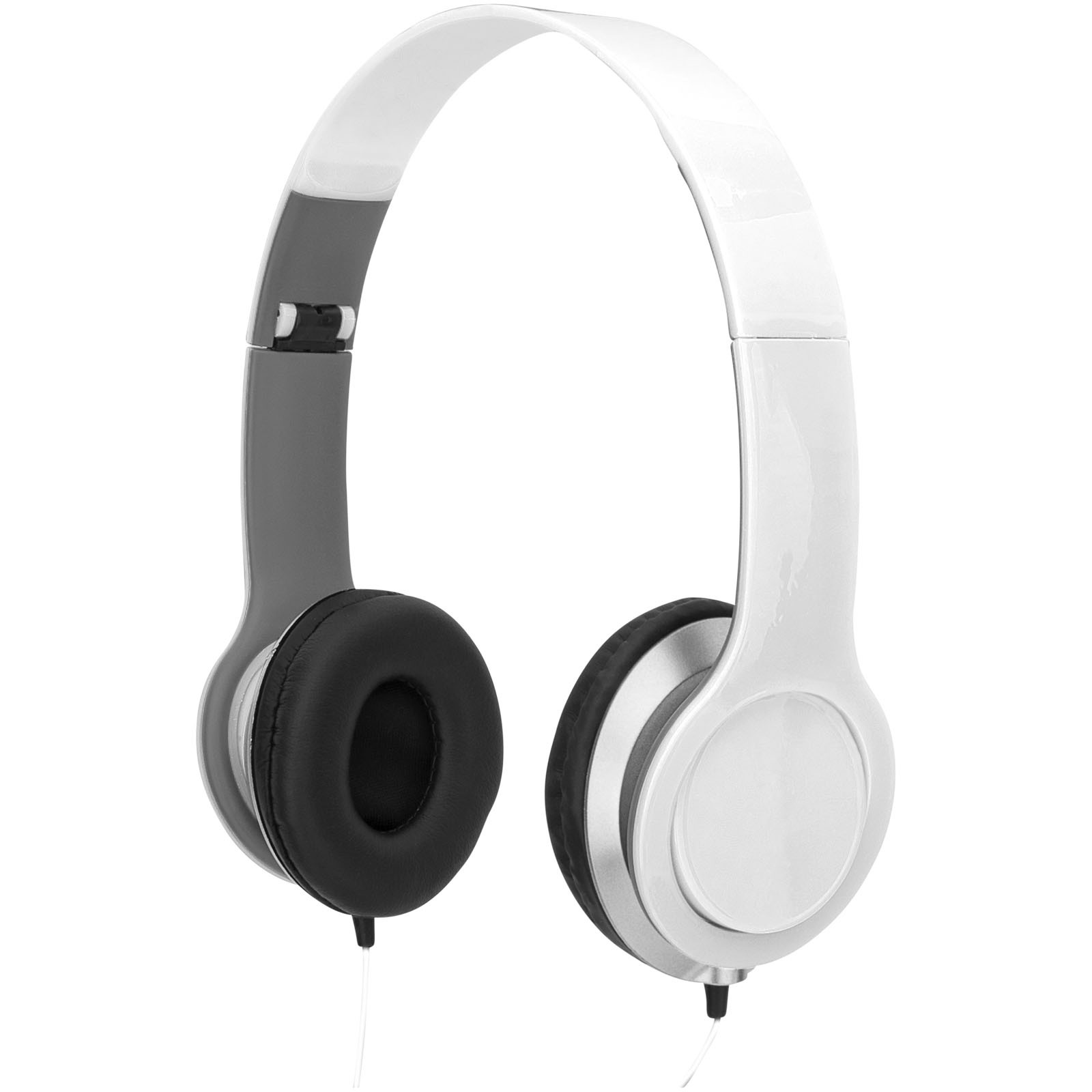 Cheaz foldable headphones - White