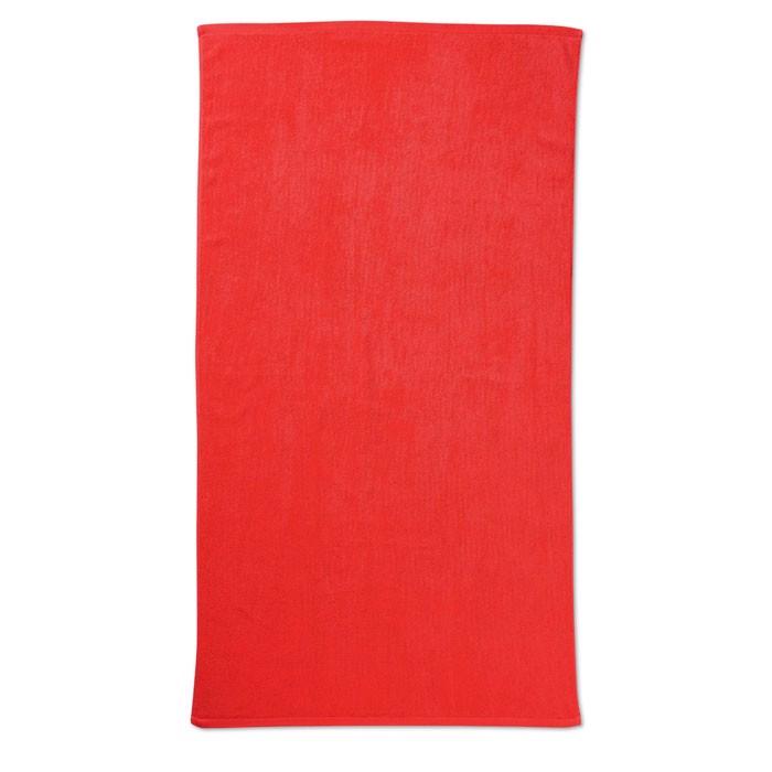 Ręcznik plażowy. Tuva - czerwony