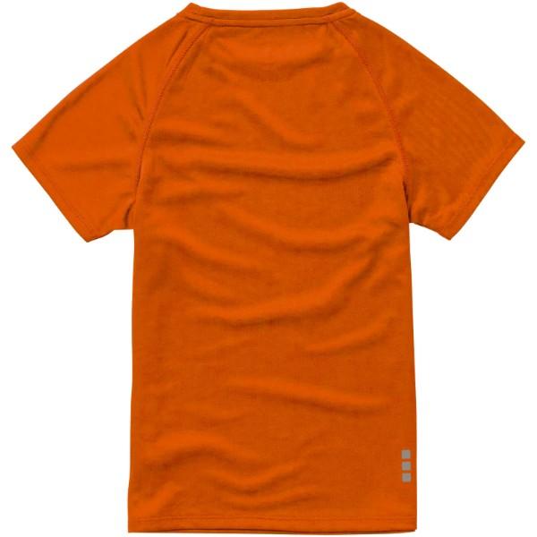 Niagara short sleeve kids cool fit t-shirt - Orange / 152