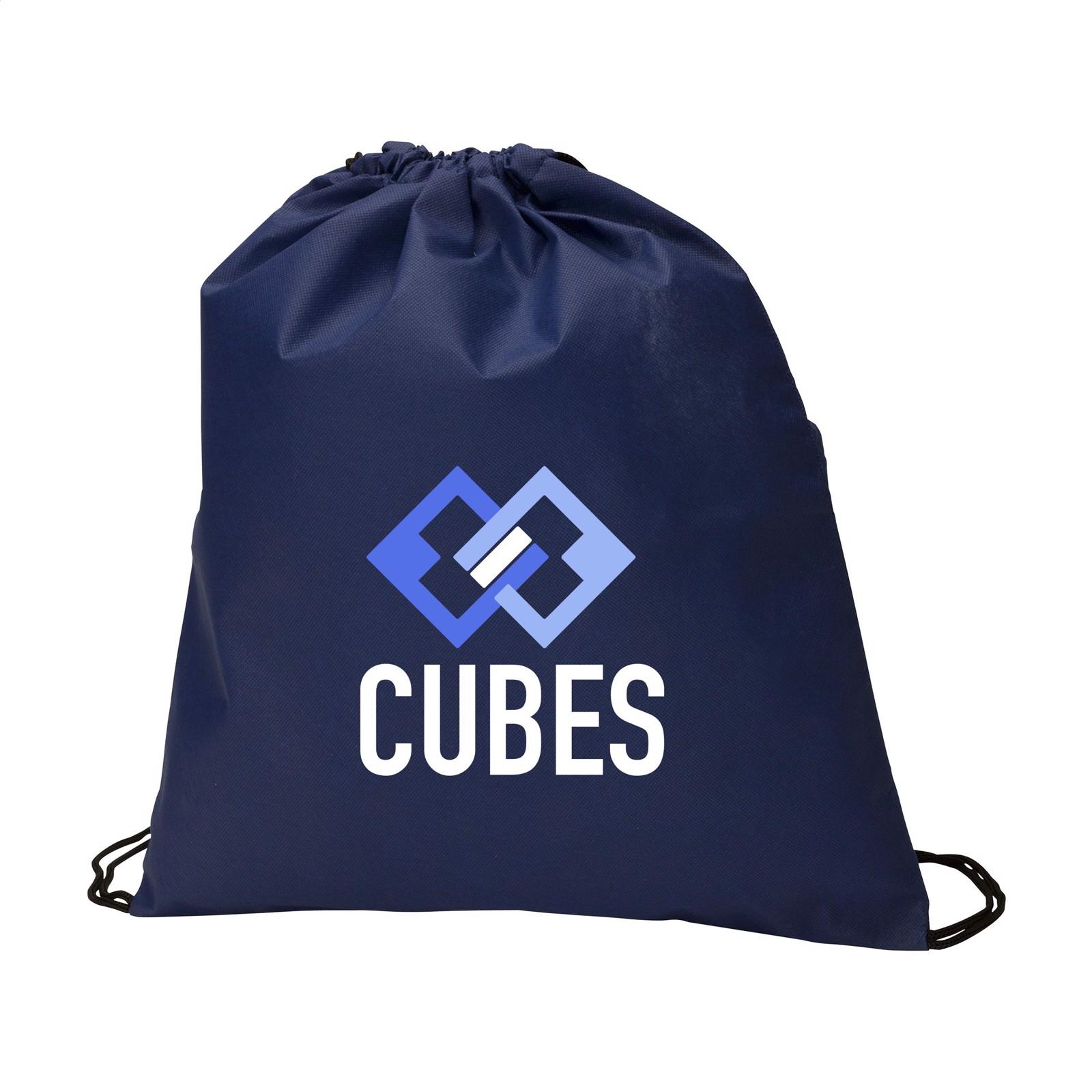 Non-Woven PromoBag backpack - Dark Blue