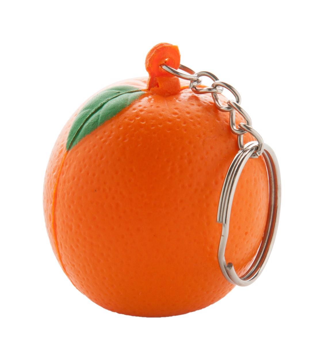Antistresový Přívěšek Na Klíče Fruty - Oranžová