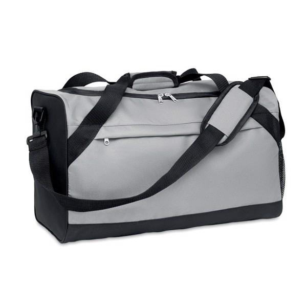 600D RPET sports bag Terra + - Grey