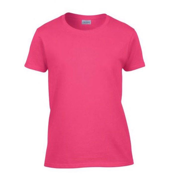 Ladies T-Shirt 185 g/m² Ladies Heavy Cotton 5000L - Safety Pink / XL